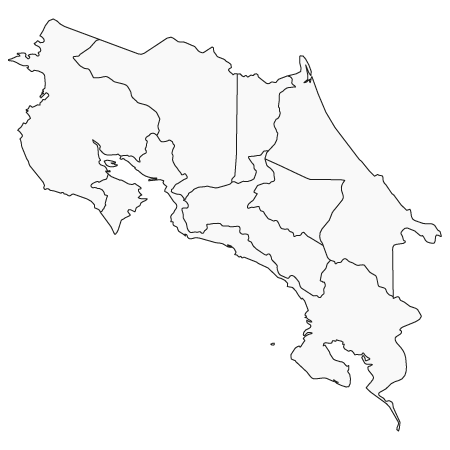 map-costa-rica | Reisen Costa Rica